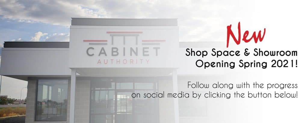 Cabinet Authority, Inc.'s new showroom and design center is coming in Spring 2021 to the Fargo-Moorhead area.