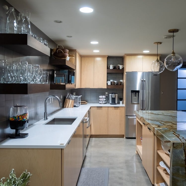 Cabinet Authority custom cabinets in Fargo, ND.