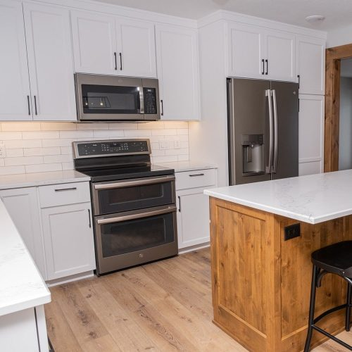 The process of getting new cabinets in Fargo, ND. is easy with Cabinet Authority, Inc.